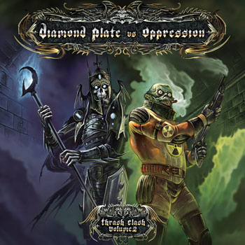 Oppression / Diamond Plate - Thrash Clash Volume 2