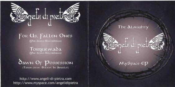 Angeli di Pietra - The Almighty MySpace EP