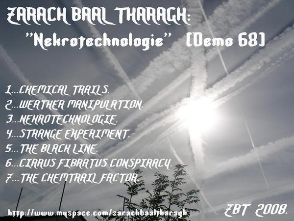 Zarach 'Baal' Tharagh - Demo 68 - Nekrotechnologie