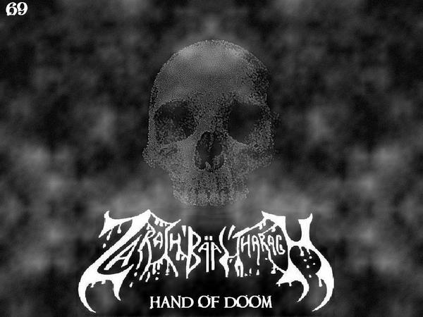 Zarach 'Baal' Tharagh - Demo 69 - Hand of Doom