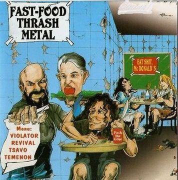 Violator / Tsavo / Revival / Temenon - Fast-Food Thrash Metal