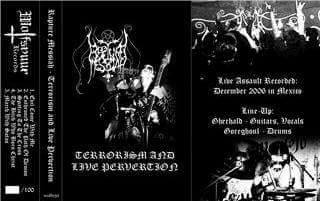 Rapture Messiah - Terrorism and Live Pervertion