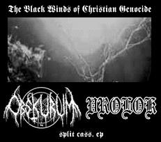 Vrolok / Obskurum - Black Winds of Christian Genocide