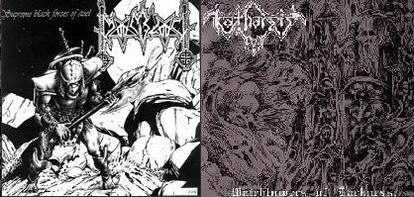 Moonblood / Katharsis - Watchtowers of Darkness / Supreme Black Forces of Steel