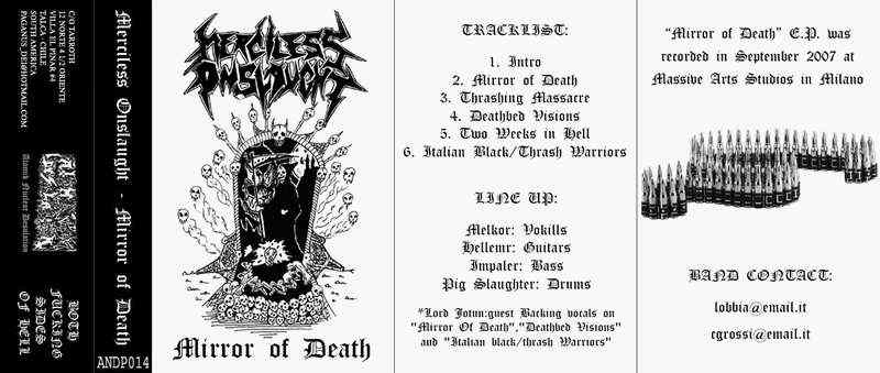 Merciless Onslaught - Mirror of Death