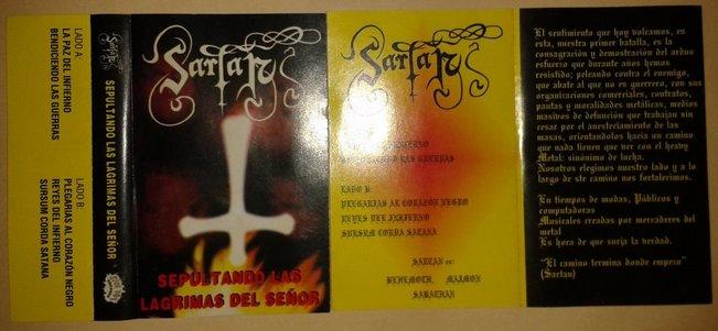 Sepultando Las Lagrimas Del Señor cover (Click to see larger picture)