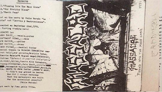 Massakre - Pissing into the Mass Grave