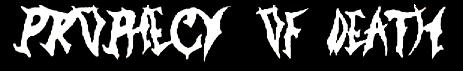 Prophecy of Death - Logo