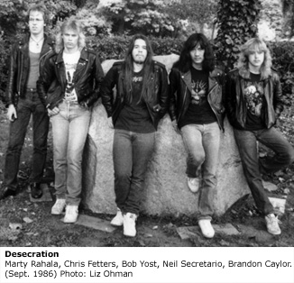 Desecration - Photo