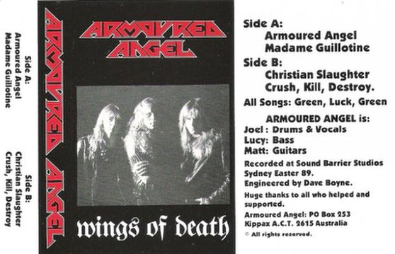 Armoured Angel - Wings of Death