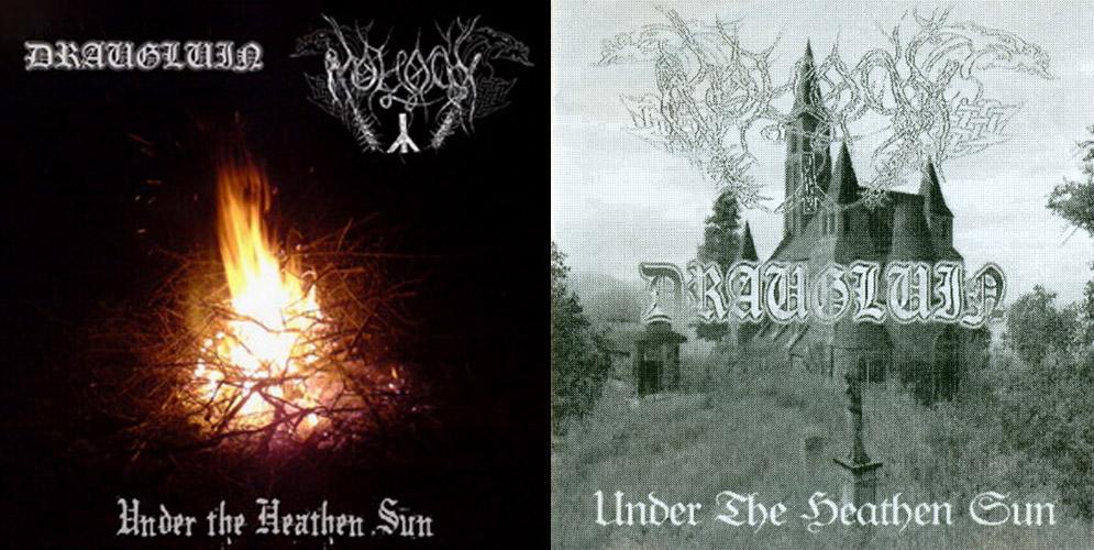 Draugluin / Moloch - Under the Heathen Sun