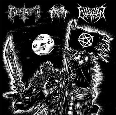 Evilwar / Besatt / Infernal Kingdom - United by the Black Flag