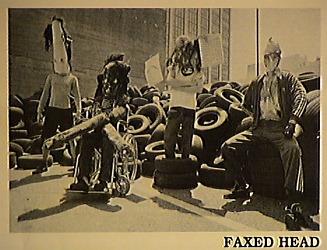 Faxed Head - Photo