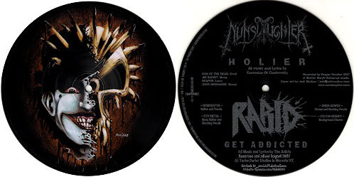 Nunslaughter / Rabid - Nunslaughter / Rabid