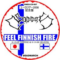 Sabbat - Feel Finnish Fire