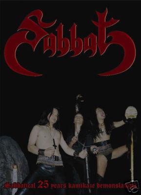 Sabbat - Sabbatical 25 Years Kamikaze Demonslaught