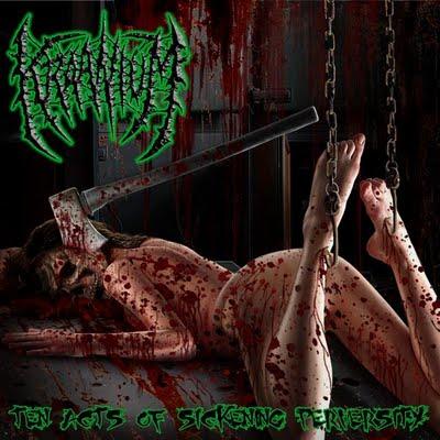 Kraanium - Ten Acts of Sickening Perversity