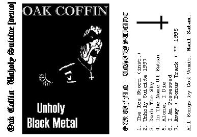 Oak Coffin - Unholy Suicide 1997