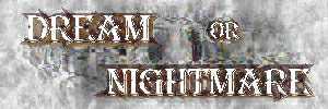 Dream or Nightmare - Logo