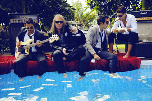Andi Deris and The Bad Bankers - Photo
