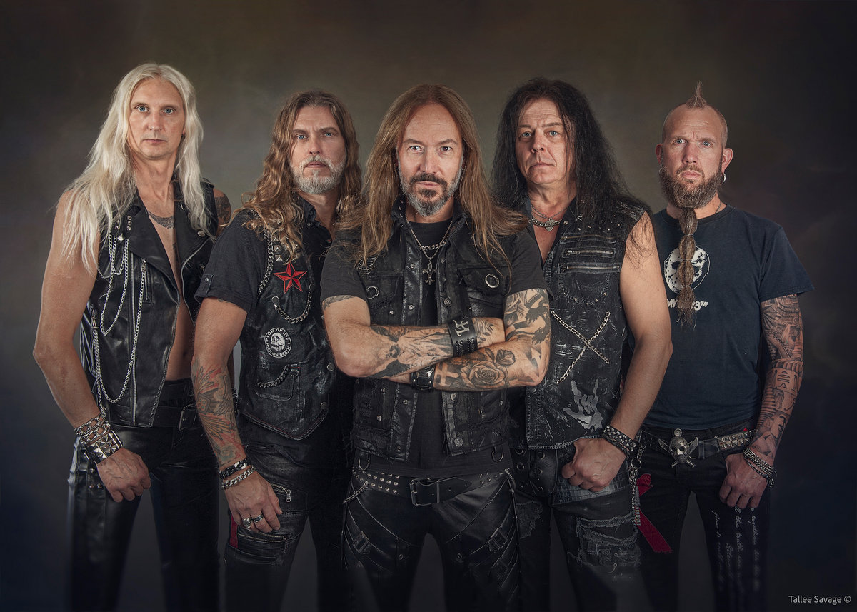 HammerFall members (Click to see larger picture)