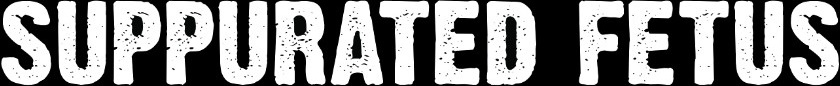 Suppurated Fetus - Logo