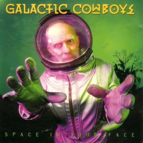 Risultati immagini per galactic cowboys space in your face
