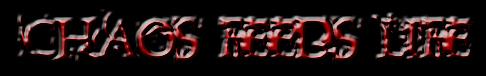 Chaos Feeds Life - Logo