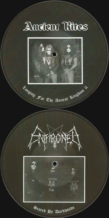 Ancient Rites / Enthroned - Scared by Darkwinds / Longing for the Ancient Kingdom II