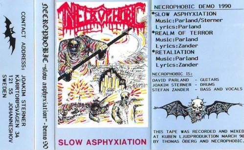 Necrophobic - Slow Asphyxiation
