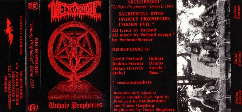 Necrophobic - Unholy Prophecies