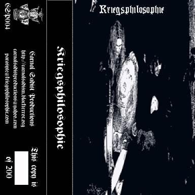 Kriegsphilosophie - Rehearsal Demo 2006