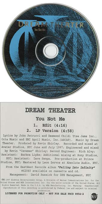 Dream Theater - You Not Me