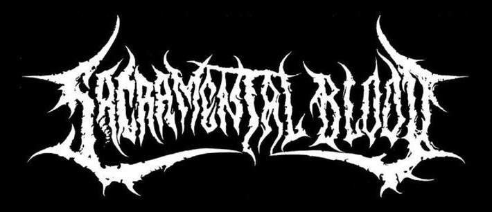 Sacramental Blood - Logo
