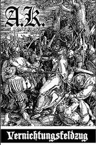 Antichristian Kommando - Vernichtungsfeldzug