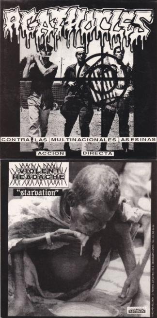 Agathocles - Contra las Multinacionales Asesinas Accion Directa / Starvation