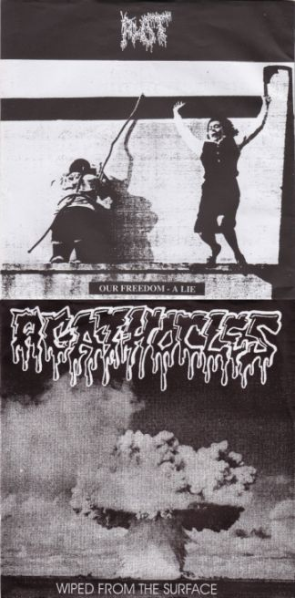 Agathocles / Rot - Our Freedom - A Lie / Wiped from the Surface