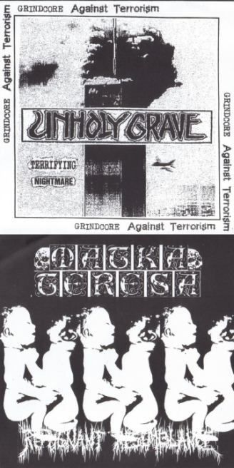 Unholy Grave - Terrifying Nightmare / Repugnant Resemblance