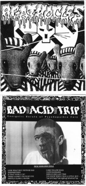Agathocles / Bad Acid Trip - Untitled / Energetic Bursts of Psychopathic Fury