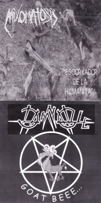 Damnable / Mixomatosis - Escorxador de la Humanitat / Goat Beee...