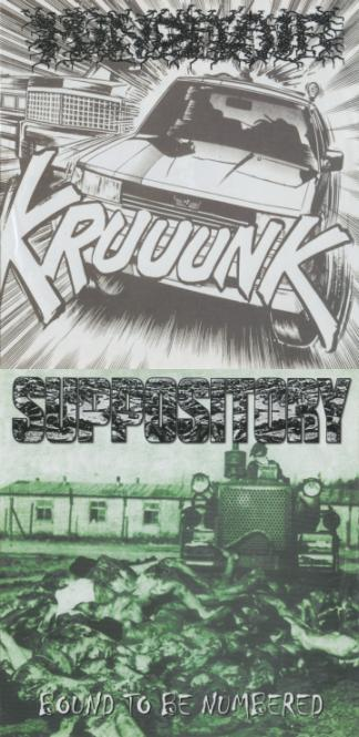 Suppository / Mindflair - Kruuunk / Bound to Be Numbered