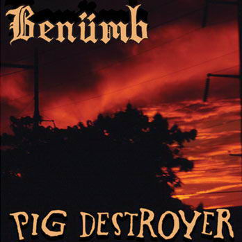 Pig Destroyer - Benümb / Pig Destroyer