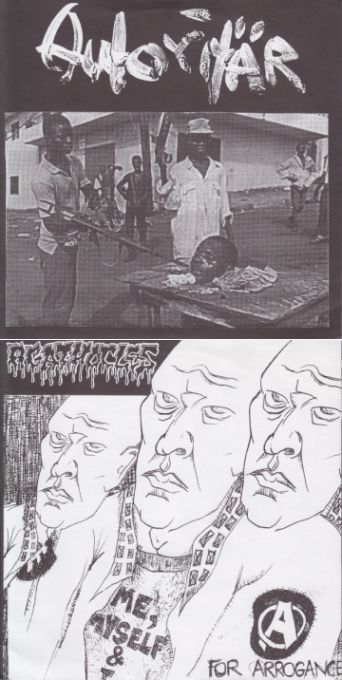 Agathocles - Untitled / A for Arrogance