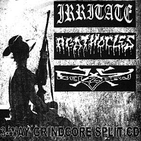 Agathocles / Irritate - 3-Way Grindcore Split CD