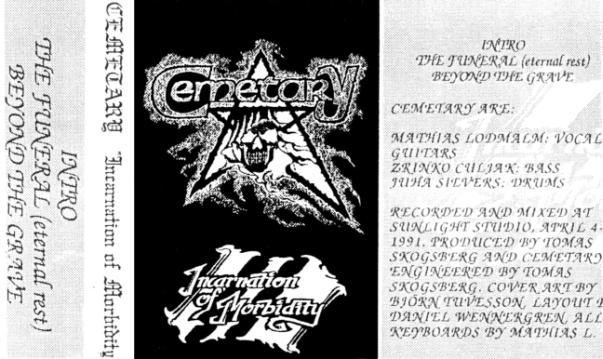 Cemetary - Incarnation of Morbidity