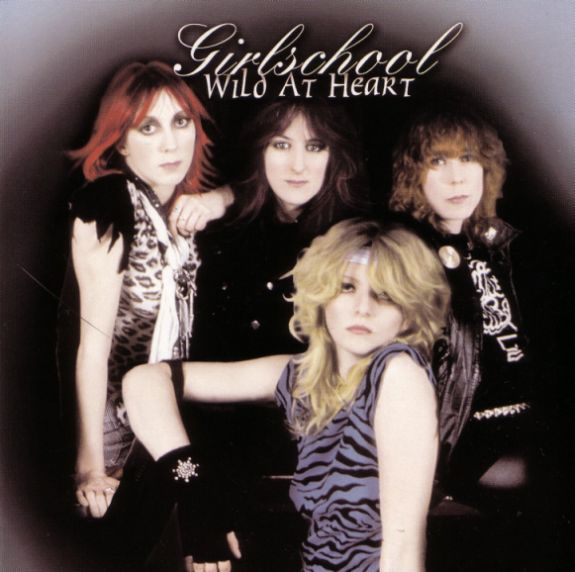 Girlschool - Wild at Heart