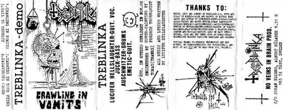 Treblinka - Crawling in Vomits