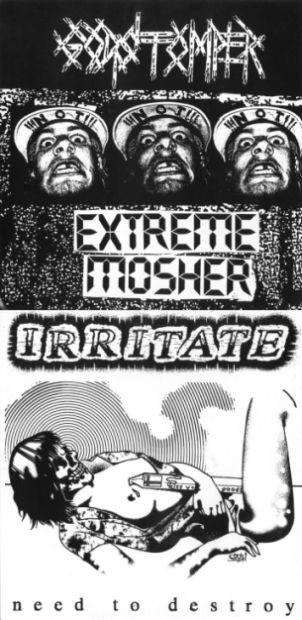 Irritate - Extreme Mosher / Need to Destroy