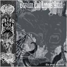 Sheitan / Aqueronte / Goat Vengeance / Pillars of Empire - Brazilian Evil Legions Attack