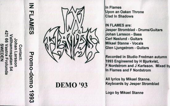 In Flames - Demo '93